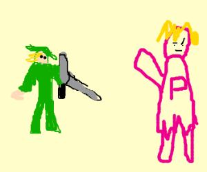 Link saved the wrong princess