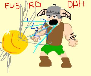 dragonborn fus ra dah a quidditch snitch