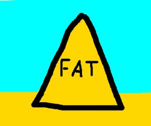 An unusual food pyramid
