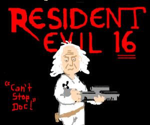 Resident Evil 16 (joke game cover)