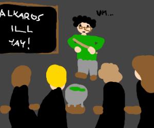 Substitute Teacher at Hogwarts