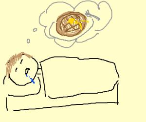 people dreamin of waffles
