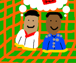 Troy and Abed have fun