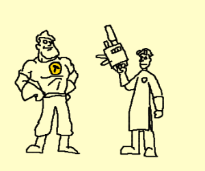 Dr.Horrible vs.Captain Hammer