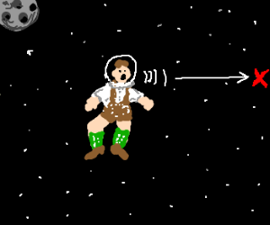 In Space Noone can hear you yodel