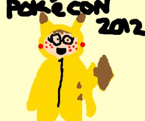 pokégeek w/ no life at pokécon 2012
