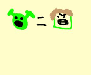 Shrek is the Hulk