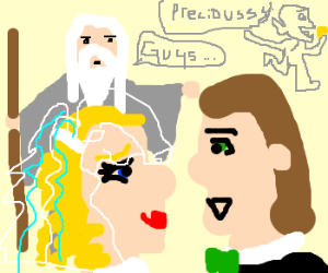 Moses bless bridalpair, gollumstealsring