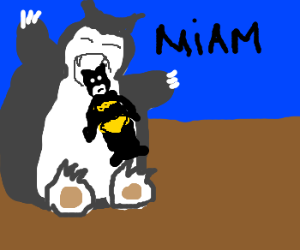 Ronflex eat Batman