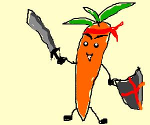 Carrot warrior