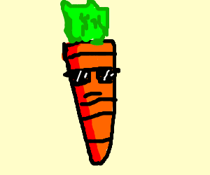The most awesome carrot ever