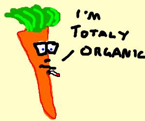 Smug carrot