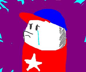 Homestar runner sheds a single tear