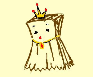 how to make a paper bag princess costume