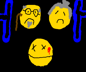 The mourning of Pacman's Parents