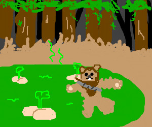 Tossing Ewoks into a lake of fart.