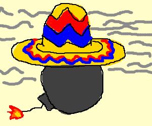 Smokebomb with Sombrero