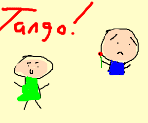 man with no feet at tango lessons