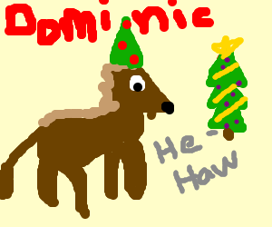 dominic the christmas donkey - Dominic The Christmas Donkey