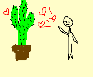 Throw love at the Censure Cactus