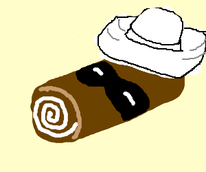A lone Swiss Roll