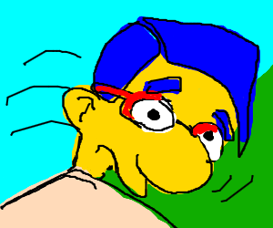 Dramatic Milhouse
