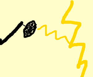 Microphone Zaps lightningbolts