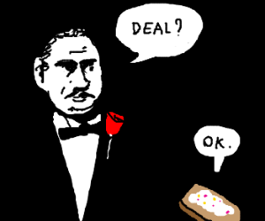 Godfather offering poptart a deal
