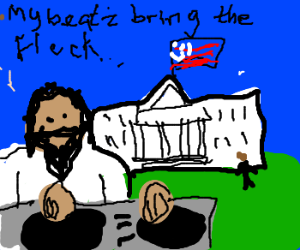 DJ Jesus goes to Washington