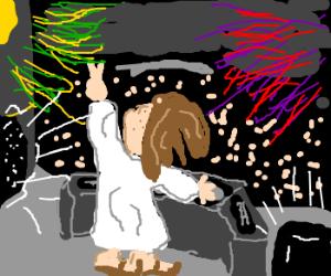 Jesus is the new Skrillex!