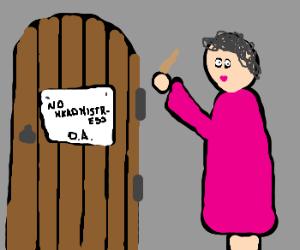 umbridge isn't invited