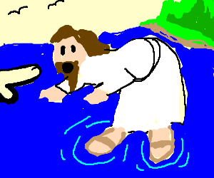 Jesus ready to suck cock