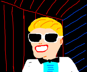 Max Headroom destroys dial up connection
