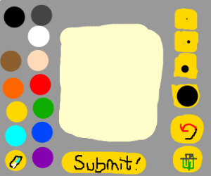 Drawception drawing interface