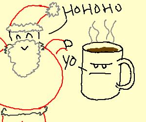 Ho ho ho and cocoa, yo