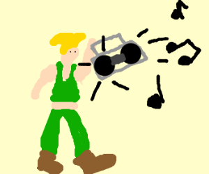 Guile's theme goes with everything.