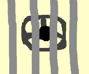 Steering wheel lockup