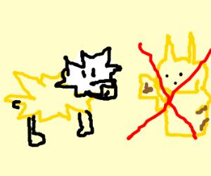 Jolteon (Pokèmon), not Pikachu!