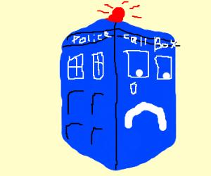 Police Box is feeling kind of sad