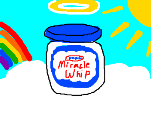 Heavenly Mayo jar