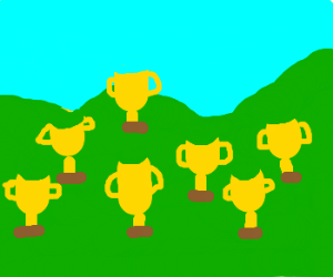 Trophy hill
