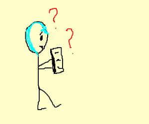 The avatar windmaster dude is illiterate