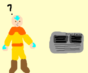 The last air bender vs. Air conditioning