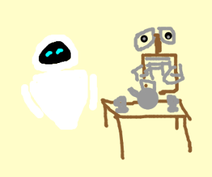 EVE hosts tea party for WALL-E