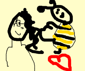 Skrillex and the bee