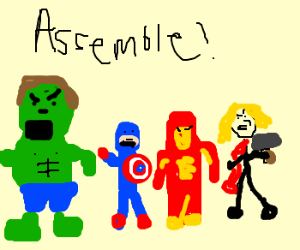 Avengers, ASSEMBLE!!!