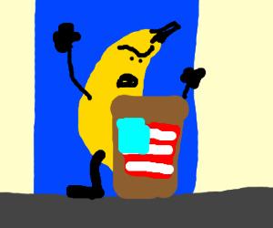 Taxes make Mayor Banana angry!