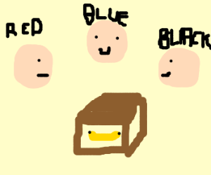 3 Guys Playing Guess the Banana Colour