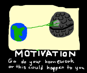A motivational poster