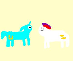 BonBon and Lyra